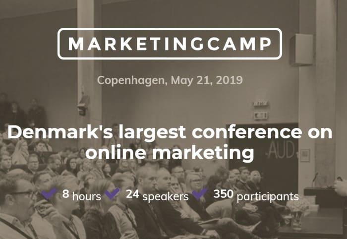 Marketing camp denmark 2